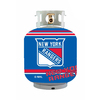 Bottle Skinz 16-in H x 34-in dia Blue Polyester New York Rangers Propane Tank Cover