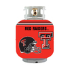 Bottle Skinz 16-in H x 34-in dia Red Polyester Texas Tech Red Raiders Propane Tank Cover