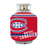 Bottle Skinz 16-in H x 34-in dia Red Polyester Montreal Canadiens Propane Tank Cover