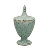 Evergreen Aqua Ceramic Vase