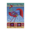 Jim Shore Awaken the Day Rooster Flag