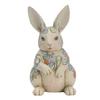 Jim Shore 9.84-in H Bunny Garden Statue