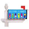 Evergreen Flip Flop Welcome Mailbox Cover