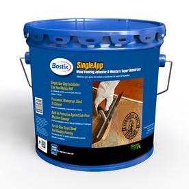 shop bostik 3 1 2 gallon trowel hardwood adhesive at lowes