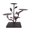 Garden Treasures Metal Candle Holder