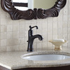 Giagni Pearl Oil-Rubbed Bronze 1-Handle 4-in Centerset WaterSense Bathroom Faucet (Drain Included)