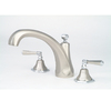 Giagni Fino Roman Brushed Nickel 2-Handle Fixed Wall Mount Tub Faucet
