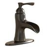 Giagni Andante Vintage Bronze 1-Handle Single Hole/4-in Centerset WaterSense Bathroom Faucet (Drain Included)