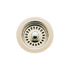BLANCO 4-1/2-in dia Stainless Steel Fixed Post Sink Strainer