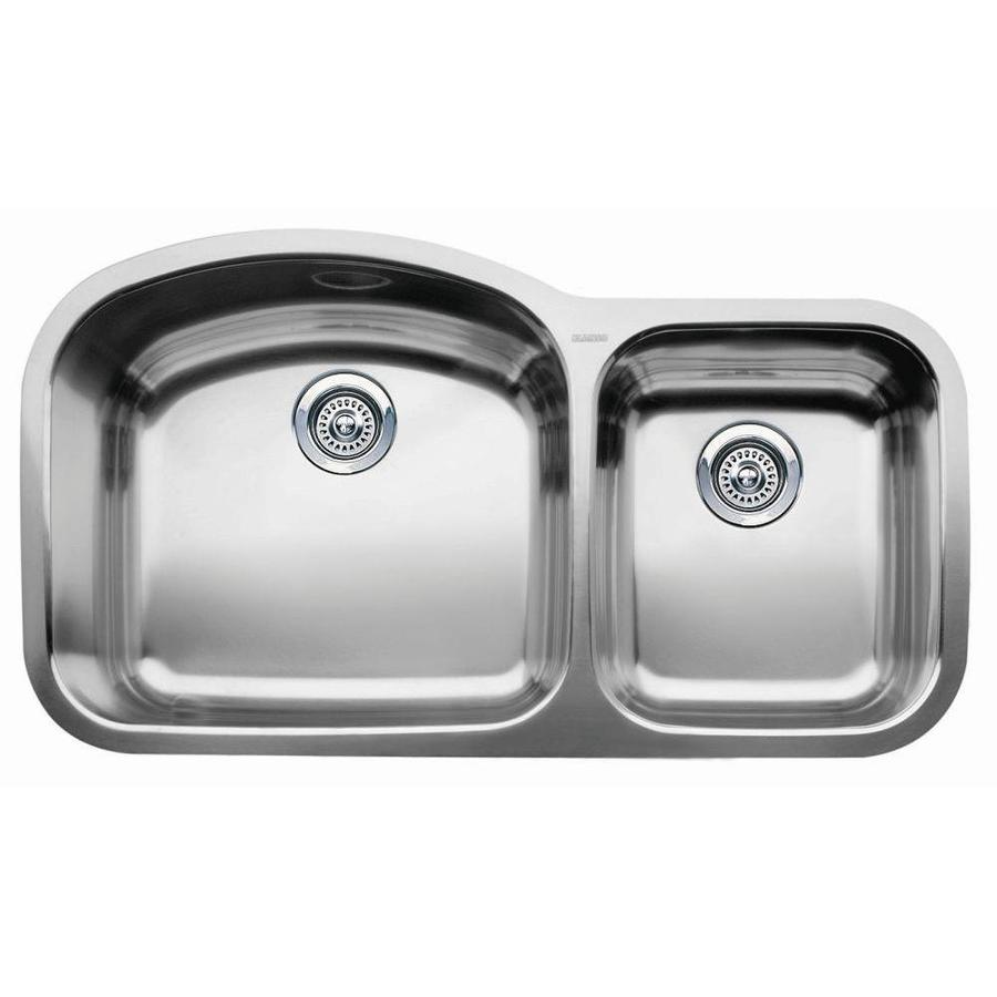Kitchen Sinks Undermount Stainless Steel : ... Stainless Steel Double-Basin Stainless Steel Undermount Kitchen Sink