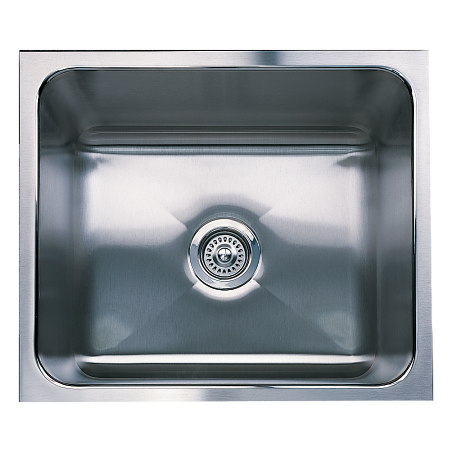 ... Stainless Steel Single-Basin Undermount Kitchen Sink at Lowes.com