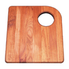 BLANCO 16-3/4-in L x 15-in W Wood Cutting Board