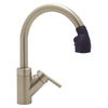 BLANCO Blancorados Satin Nickel 1-Handle Pull-Down Kitchen Faucet