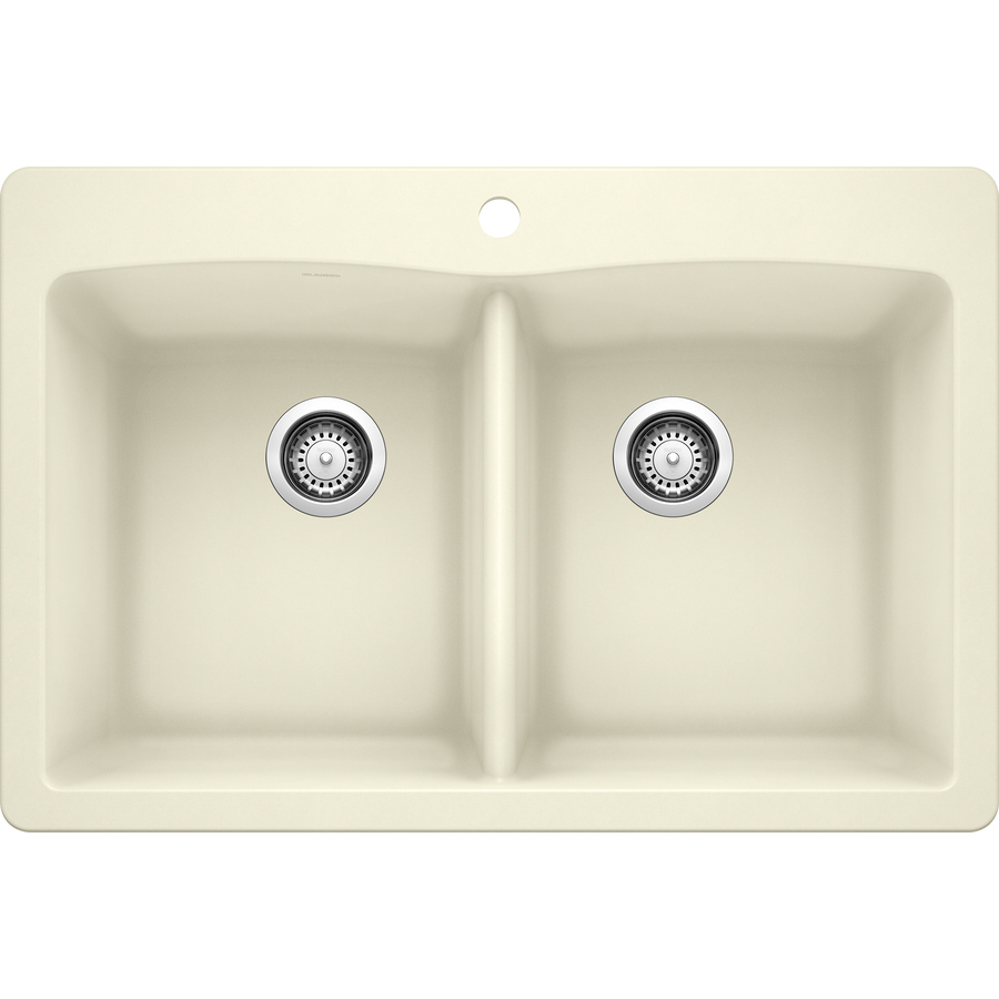 Blanco Sinks Undermount : ... Double-Basin Granite Drop-in or Undermount Kitchen Sink at Lowes.com