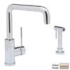 BLANCO Blancopurus I 1-Handle High-Arc Kitchen Faucet with Side Spray