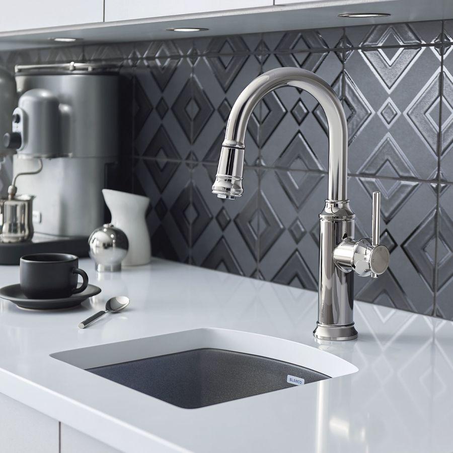 Blanco Bar Sink : Shop BLANCO Diamond 1 Drop-In or Undermount Granite Bar Sink at Lowes ...
