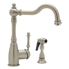 BLANCO Blancograce 1-Handle High-Arc Kitchen Faucet with Side Spray