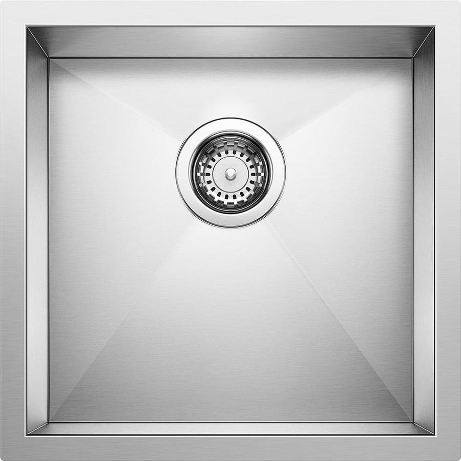 ... Steel Single-Basin Stainless Steel Undermount Bar Sink at Lowes.com