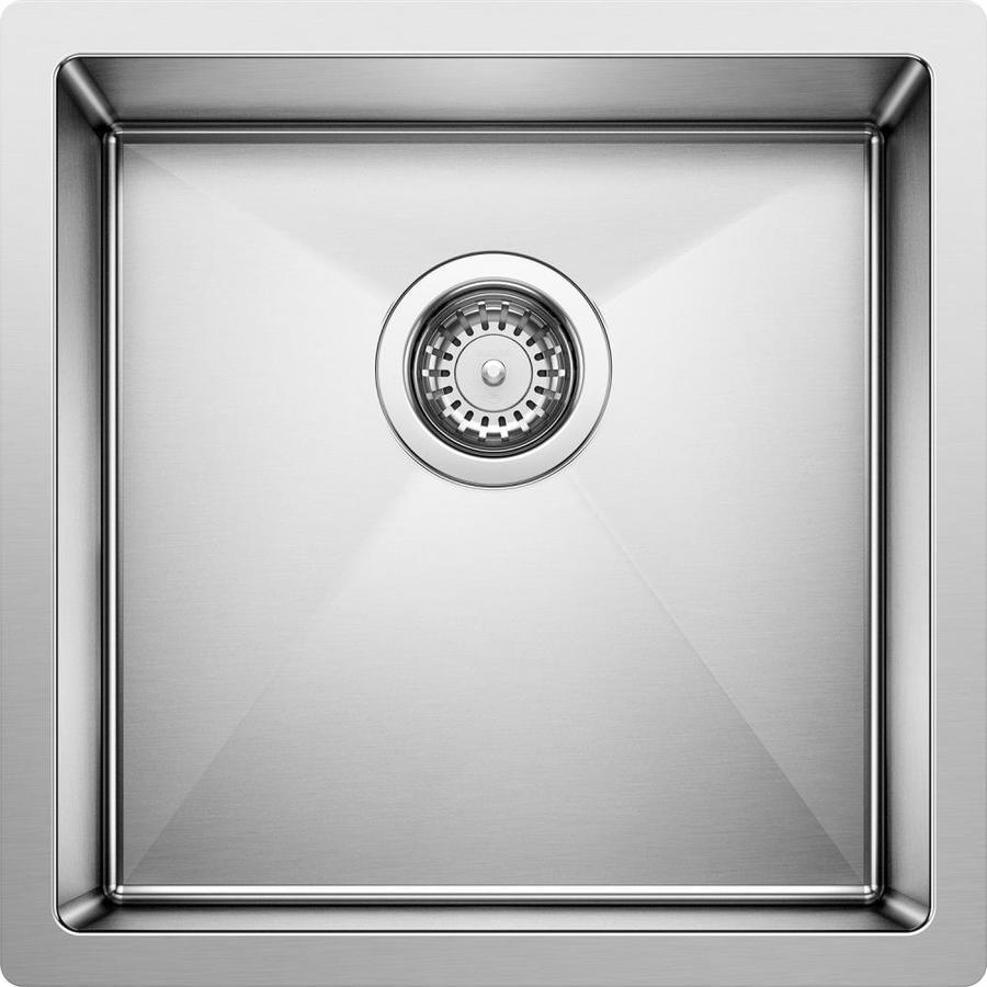 Undermount Stainless Sink : ... precision 18 gauge single basin undermount stainless steel bar sink