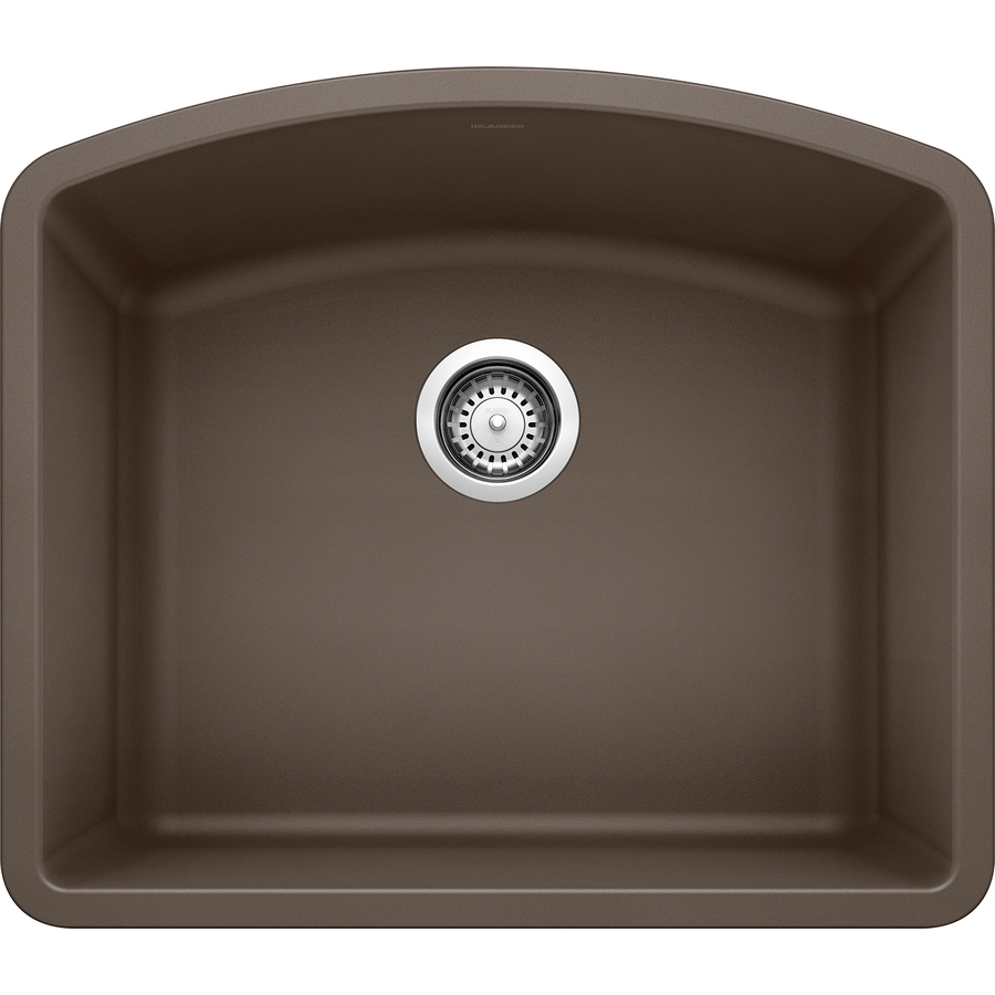 ... Cafe Brown Single-Basin Granite Undermount Kitchen Sink at Lowes.com