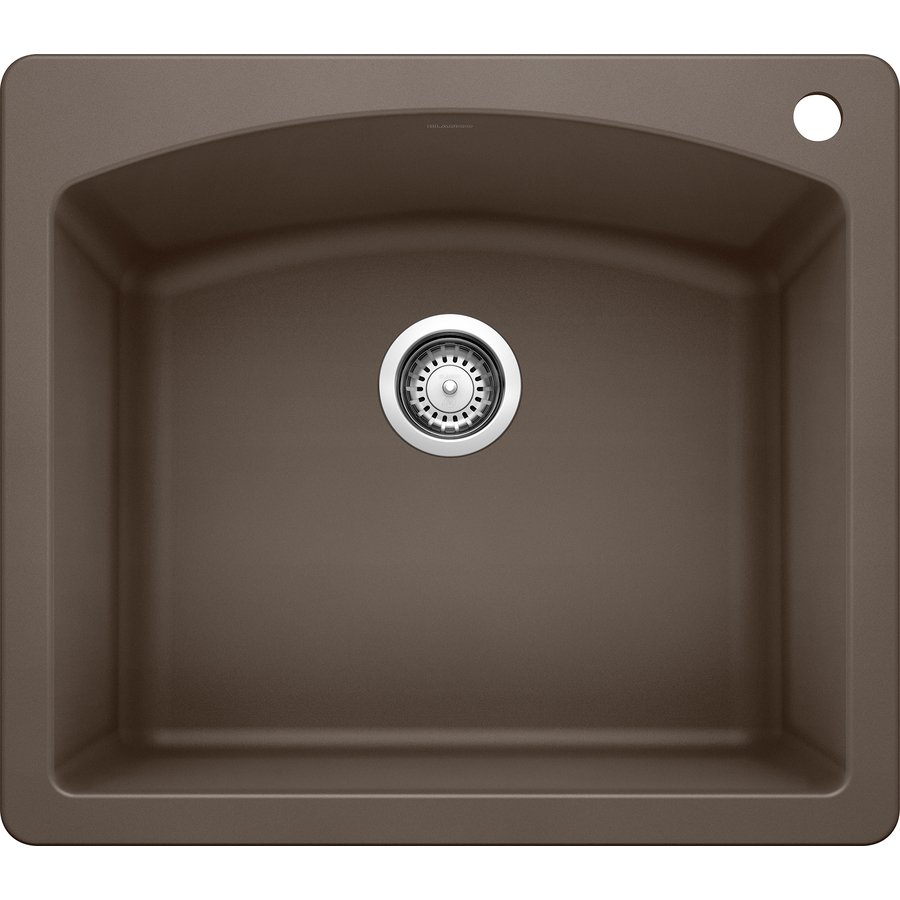 Blanco Single Sink : New - Blanco Granite Single Bowl Sink Undermount Or Drop In Diamond ...