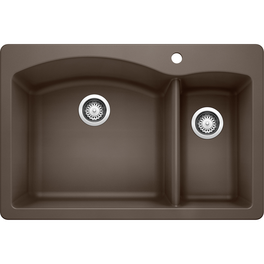 ... Double-Basin Drop-In or Undermount Granite Kitchen Sink at Lowes.com