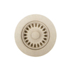 BLANCO 6-in dia Bisque Fixed Post Sink Strainer