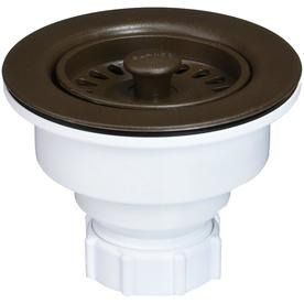BLANCO 6-in dia Brown Fixed Post Sink Strainer