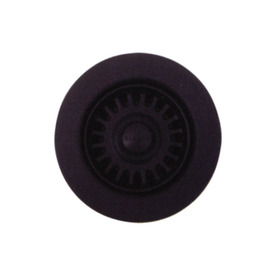 BLANCO 6-in dia Anthracite Stopper Garbage Disposal Stopper 441095