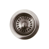 BLANCO 6-in dia Brushed Nickel Stopper Garbage Disposal Stopper