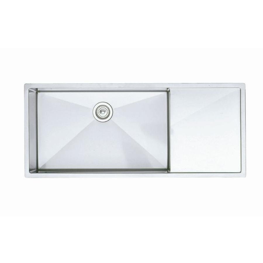 ... Stainless Steel Single-Basin Stainless Steel Undermount Kitchen Sink