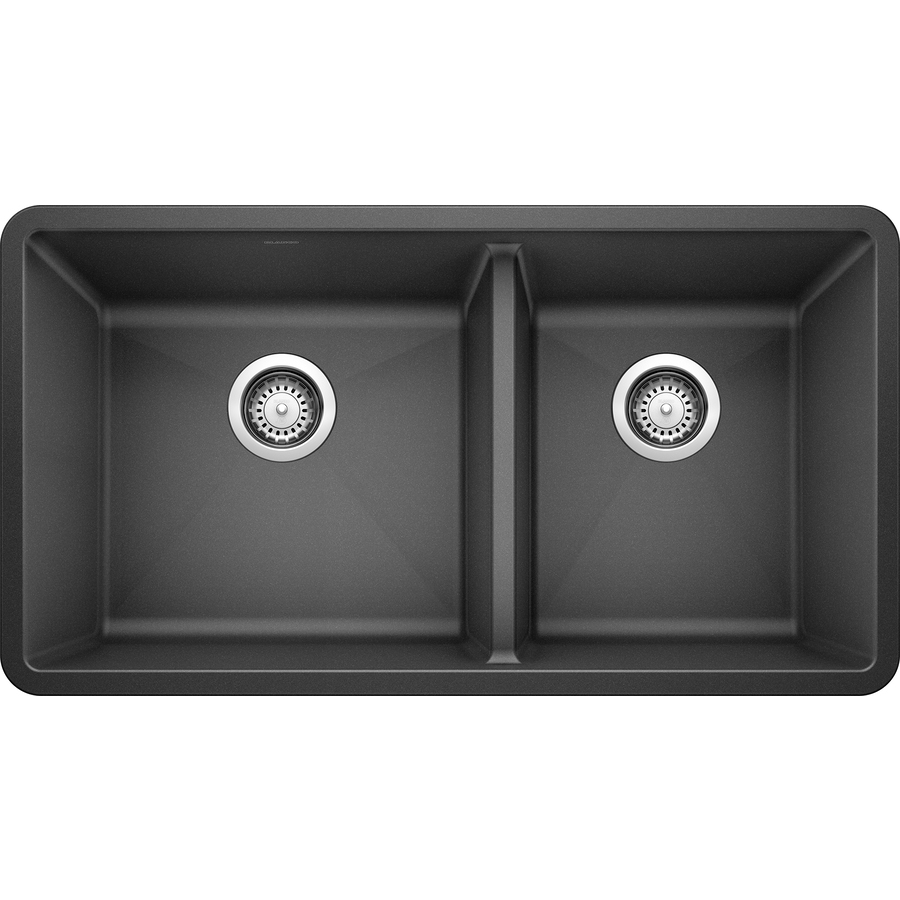 Blanco Granite Undermount Kitchen Sink White Gold