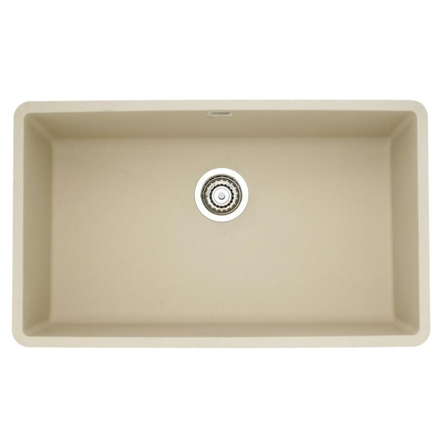 Blanco Single Sink : ... out zoom in blanco precis single basin undermount granite kitchen sink