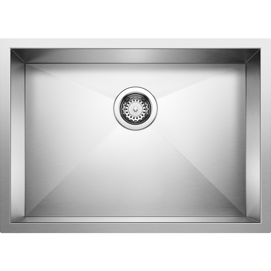 BLANCO Quatrus Stainless Steel Single-Basin Undermount Kitchen Sink ...