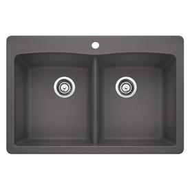 Cinder Blanco Sink : Home Kitchen Kitchen & Bar Sinks Kitchen Sinks