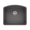 BLANCO Diamond 20.813-in x 24-in Single-Basin Granite Undermount Residential Kitchen Sink