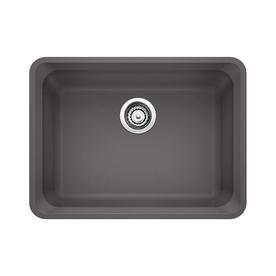 Cinder Blanco Sink : Home Kitchen Kitchen & Bar Sinks Kitchen Sinks BLANCO Vision Cinder ...