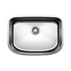 BLANCO One 25-in x 18-in Satin Single-Basin Stainless Steel Undermount Residential Kitchen Sink