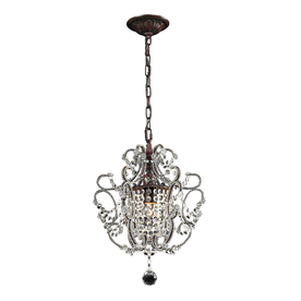 Westmore Lighting 1-Light Rust Chandelier