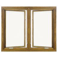 Wood window for Pella casement window screens