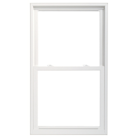 ThermaStar by Pella Vinyl Double Pane Annealed Replacement Double Hung Window (Rough Opening: 36-in x 62-in Actual: 35.5-in x 61.5-in)