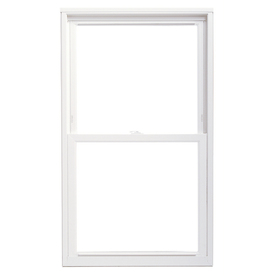 ThermaStar by Pella Vinyl Double Pane Annealed Replacement Egress Double Hung Window (Rough Opening: 36-in x 72-in Actual: 35.5-in x 71.5-in)