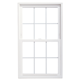 ThermaStar by Pella Vinyl Double Pane Annealed Replacement Double Hung Window (Rough Opening: 36-in x 60-in Actual: 35.5-in x 59.5-in)