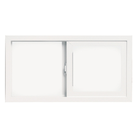 ThermaStar by Pella 32-in x 19-in 10 Series Sliding Window