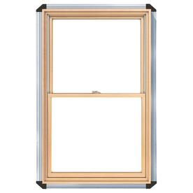 Pella 450 Series Wood Double Pane Annealed New Construction Double Hung Window (Rough Opening: 28.25-in x 46.25-in Actual: 27.5-in x 45.5-in)