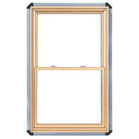 Pella 32.25-in x 38.25-in 450 Series Wood Double Pane Annealed Double Hung Window