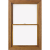 Pella 32-1/4-in x 62-1/4-in 450 Series Wood Double Pane Double Hung Window