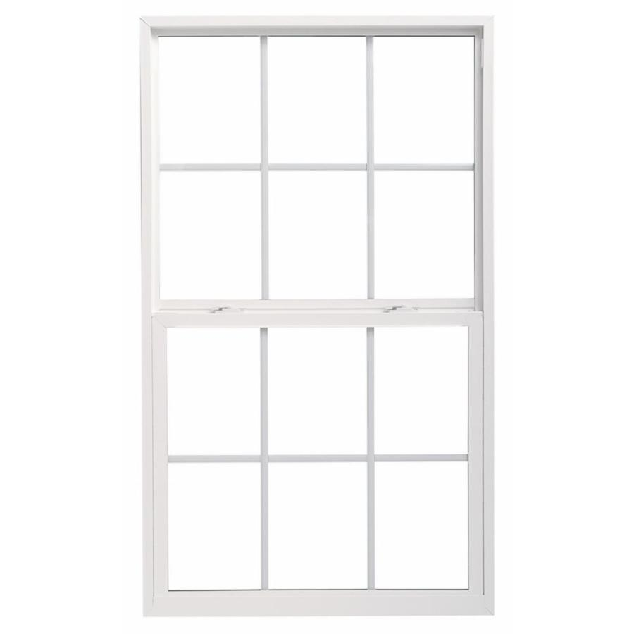 Shop thermastar by pella 10 series vinyl double pane for Thermal star windows