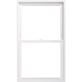ThermaStar by Pella 20 Series Vinyl Double Pane Annealed Replacement Single Hung Window (Rough Opening: 31.75-in x 53.75-in; Actual: 31.5-in x 53.5-in)