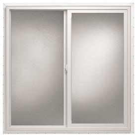 ThermaStar by Pella 36-in x 24-in 10 Series Left-Operable Vinyl Double Pane Sliding Window